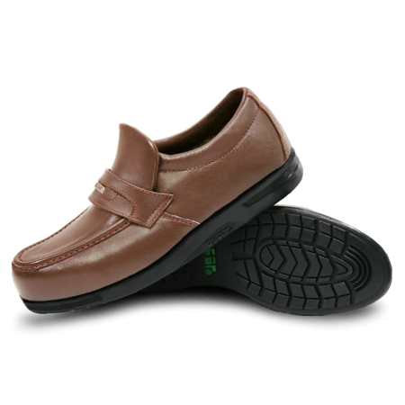 Slim safety shoes