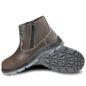 Zip Safety Boots